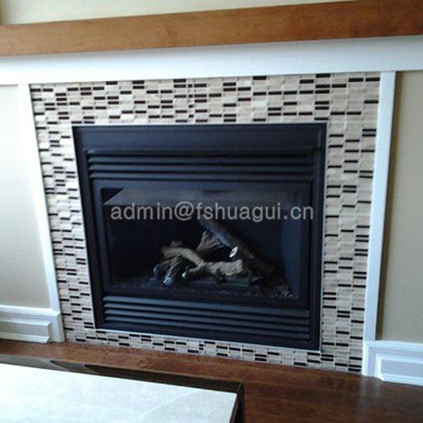 Home design for fire place tile