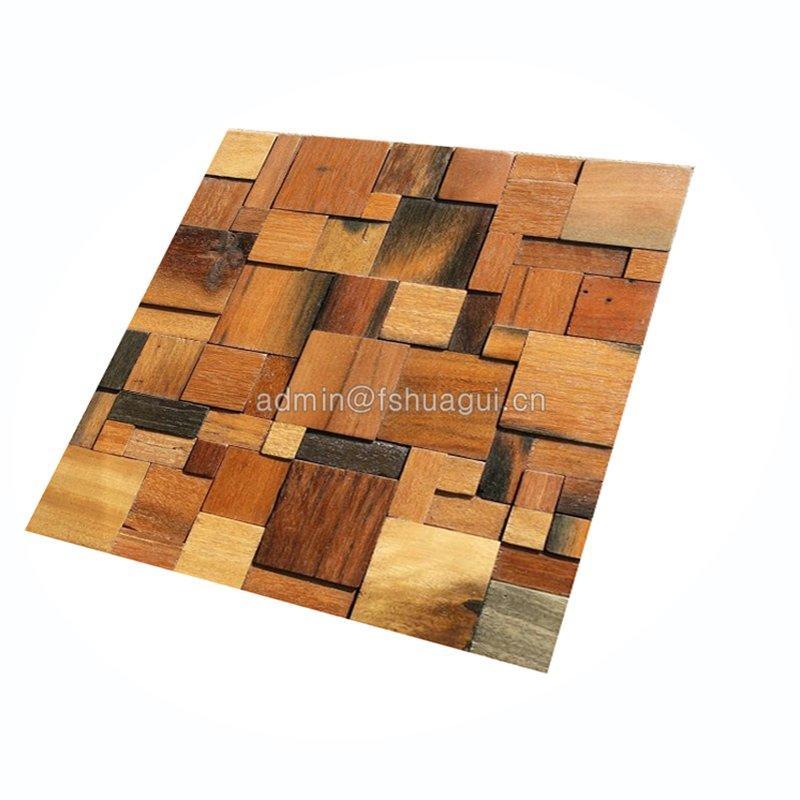 panel wood ceramic tile that looks like wood new professional Huagui Brand