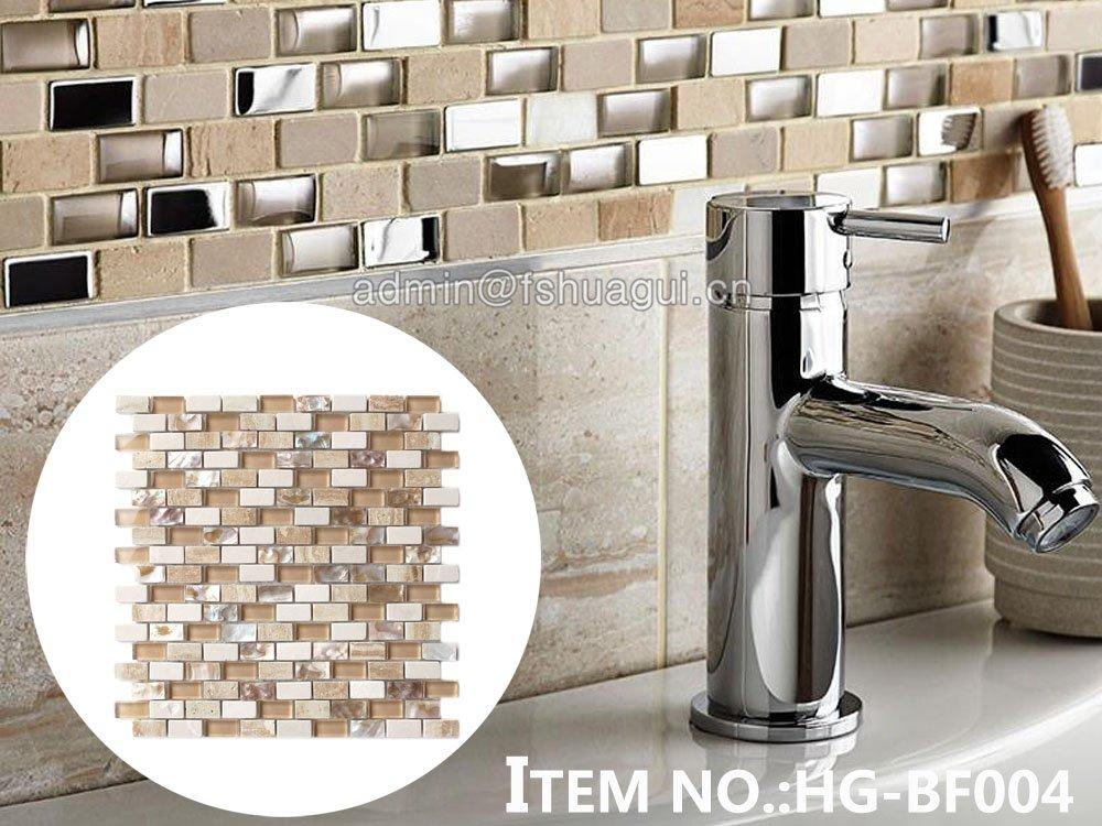 Hot pearl backsplash popular Huagui Brand