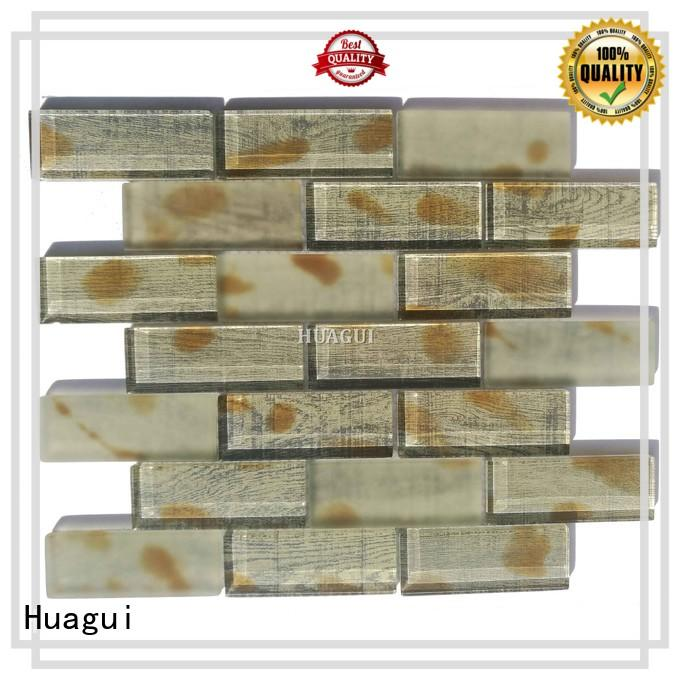 Huagui tile glass subway tile backsplash company for indoor