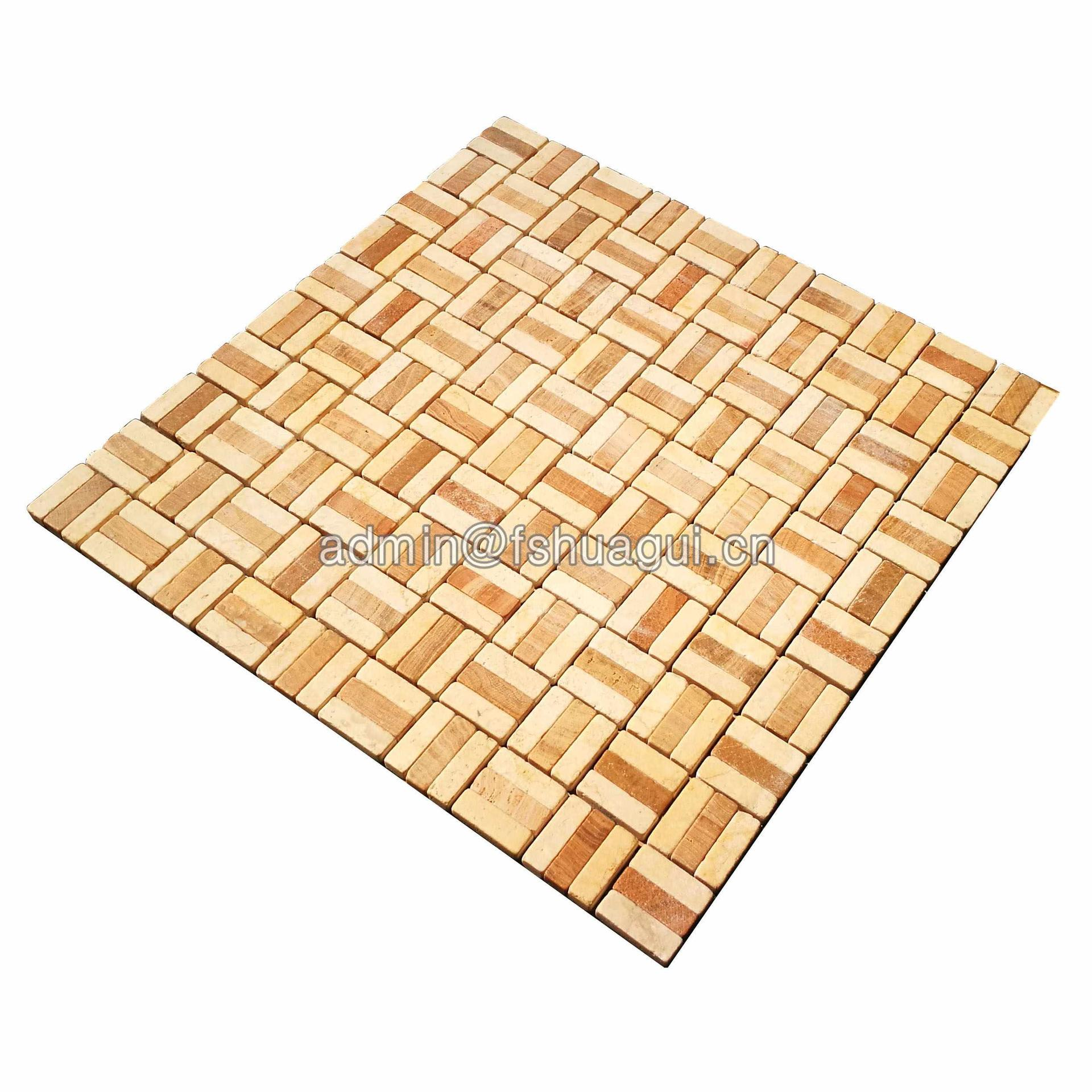 Exterior wall house decorative stone mosaic tile pattern