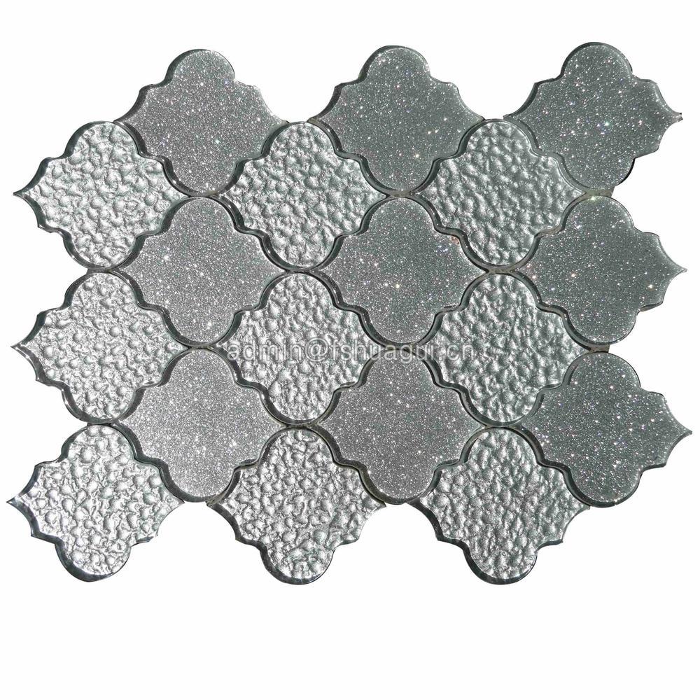Beautiful mosaic art patterns of water jet backplash design
