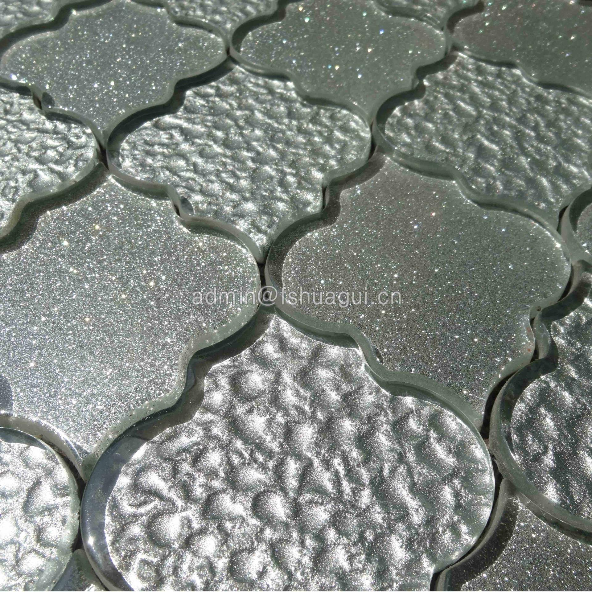 Beautiful mosaic art patterns of water jet backplash design