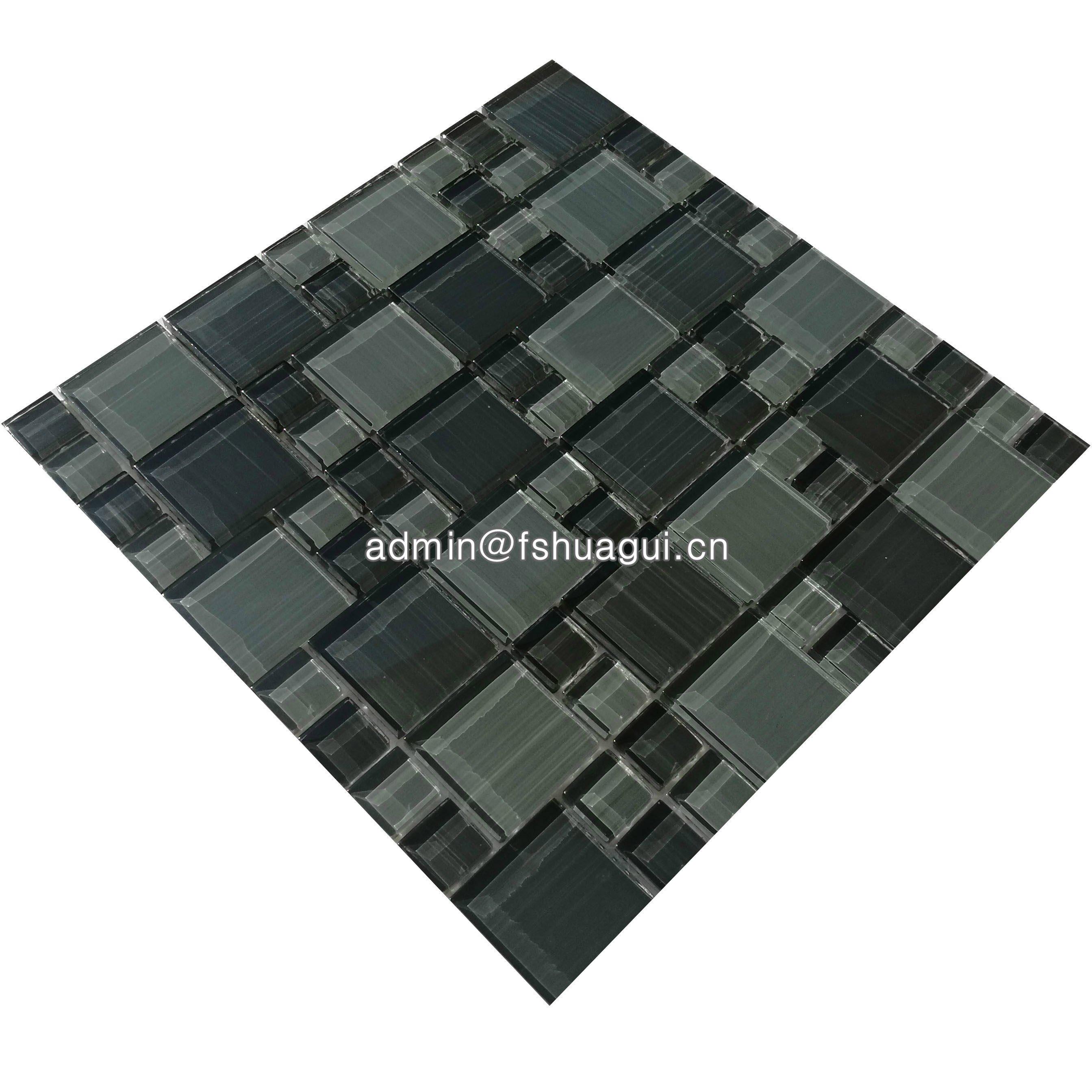 Huagui Glass mosaic HG-ES002 GLASS MOSAIC TILE image69