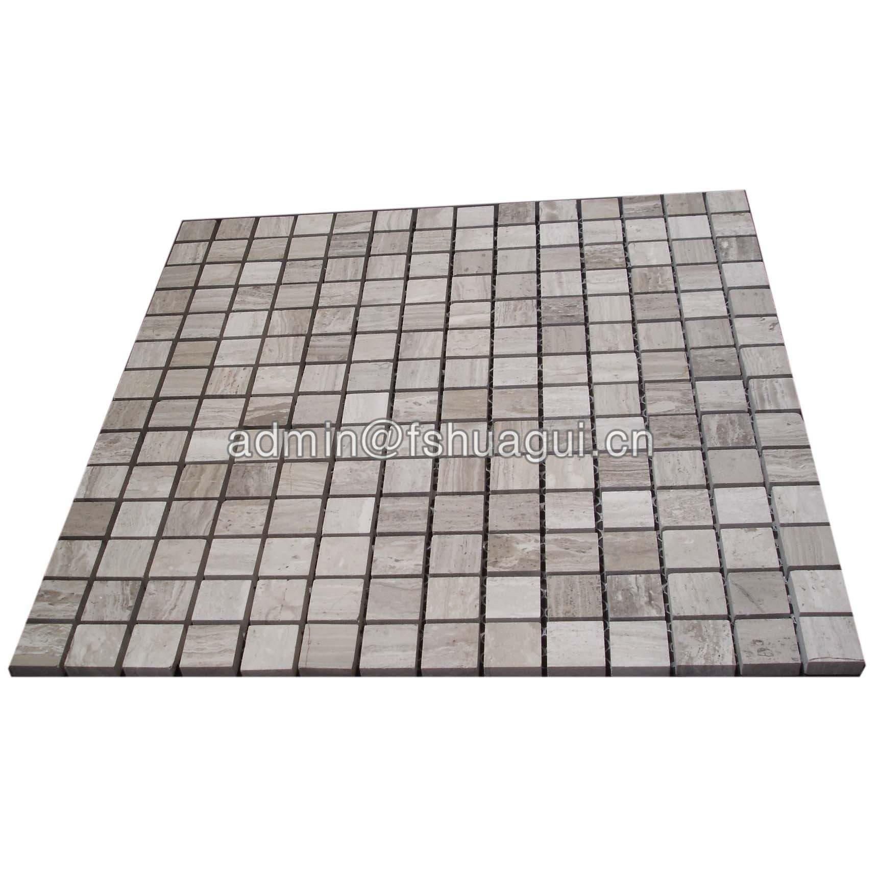 Natural Marble Stone Mosaic Tile For Wall Decoration