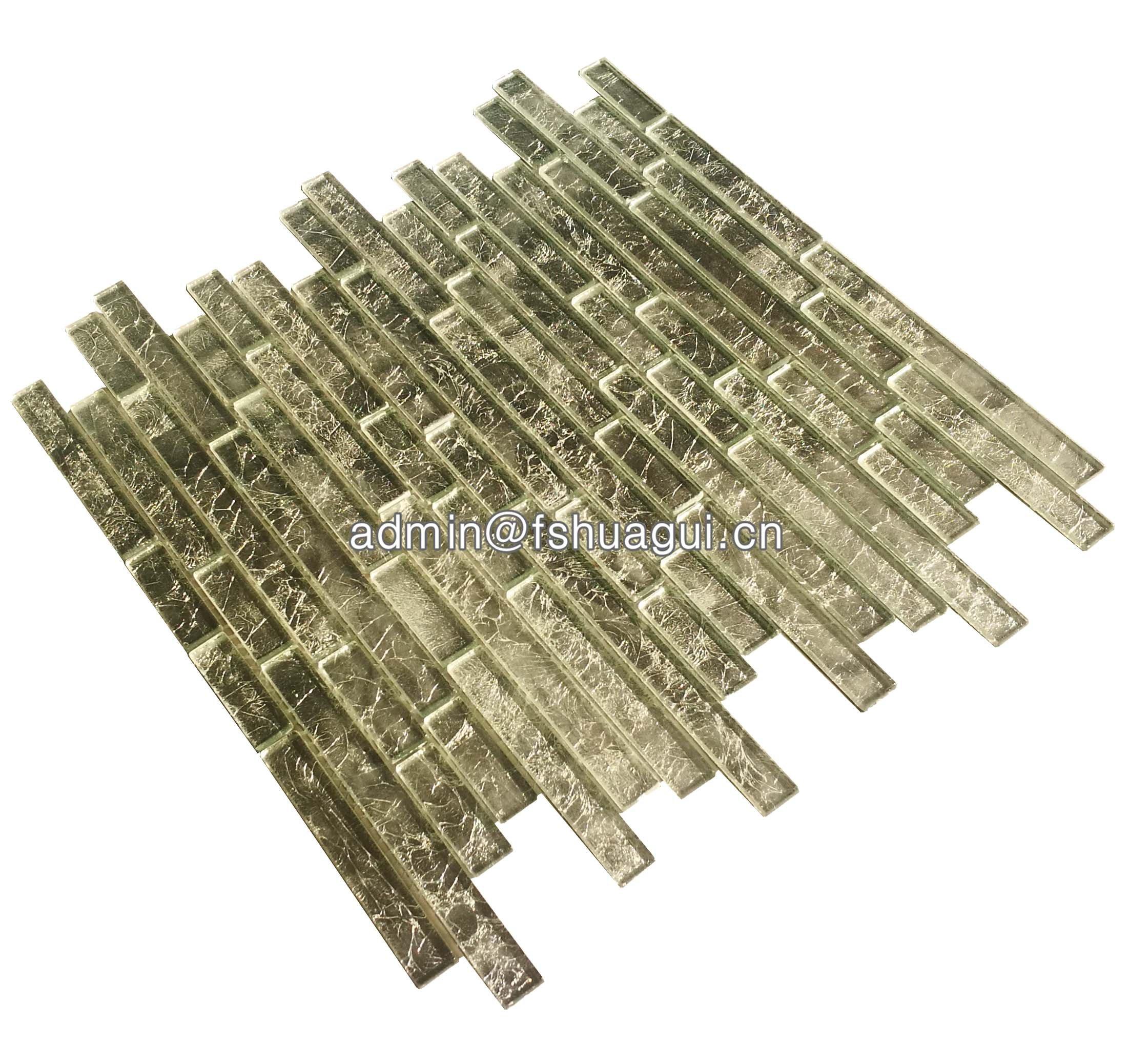 Huagui Glass Mosaic Tile HG-CDF009 GLASS MOSAIC TILE image30