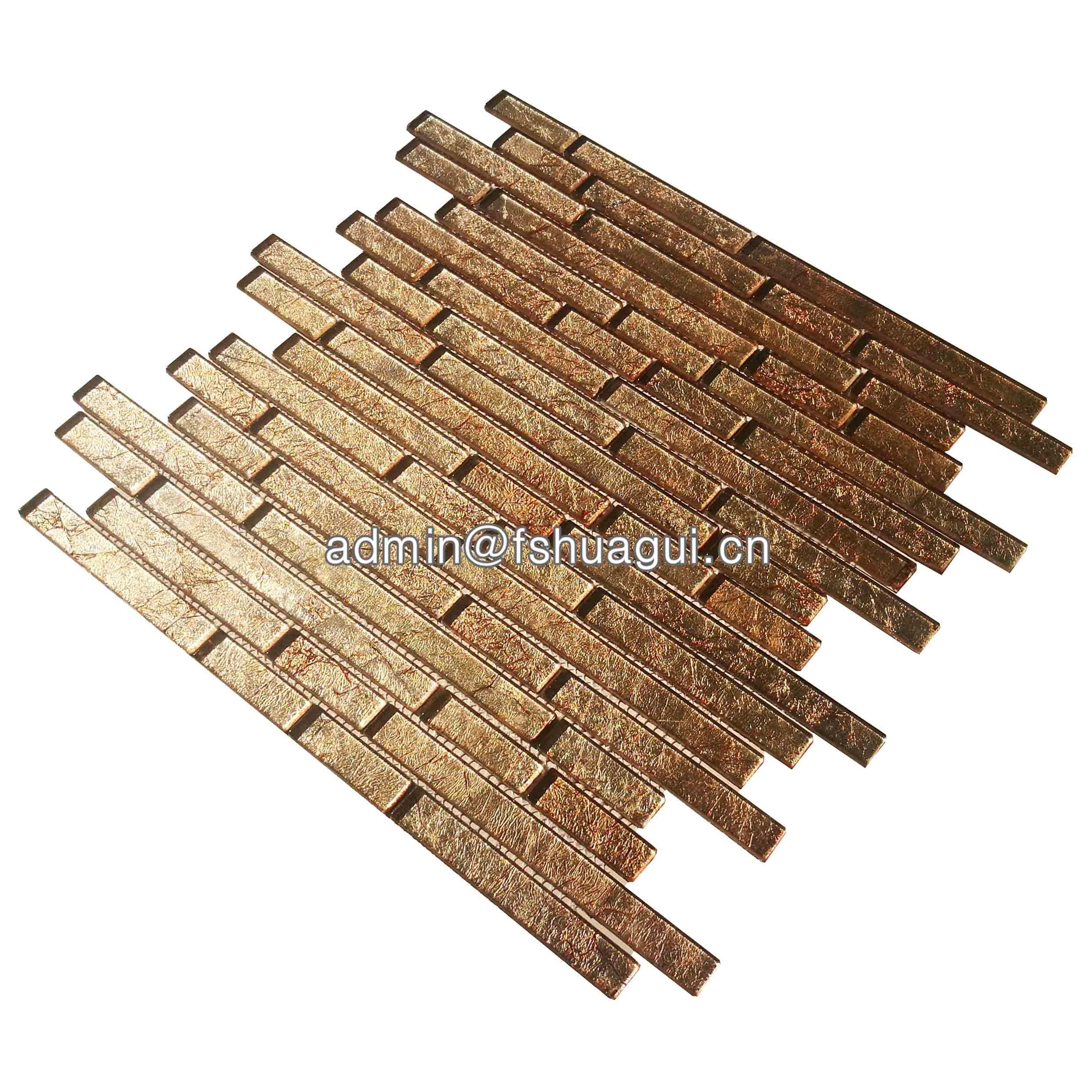 Huagui Glass Mosaic Tile HG-CDT023A GLASS MOSAIC TILE image29