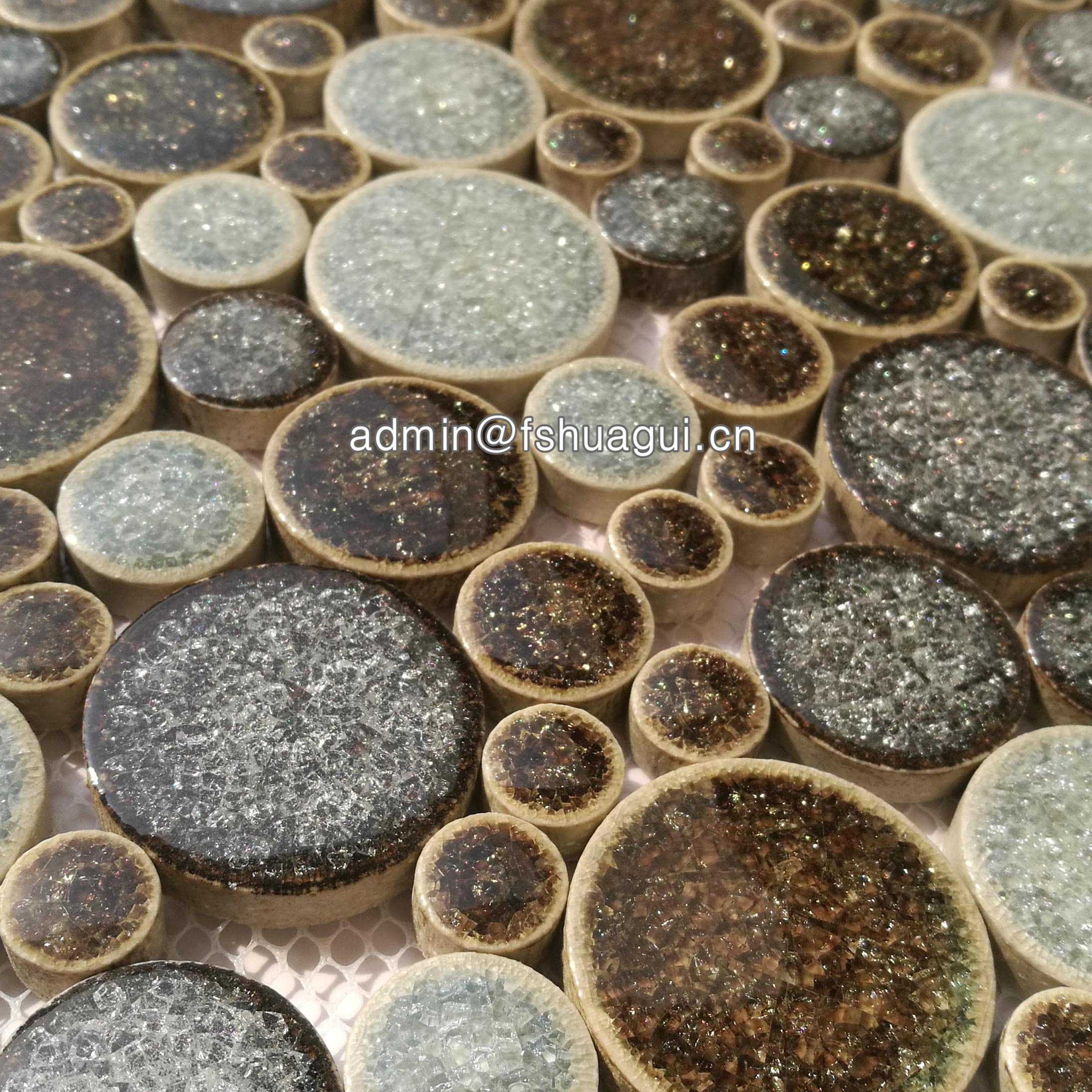 Huagui Ceramic mosaic tile HG-IC003 CERAMIC MOSAIC TILE image12