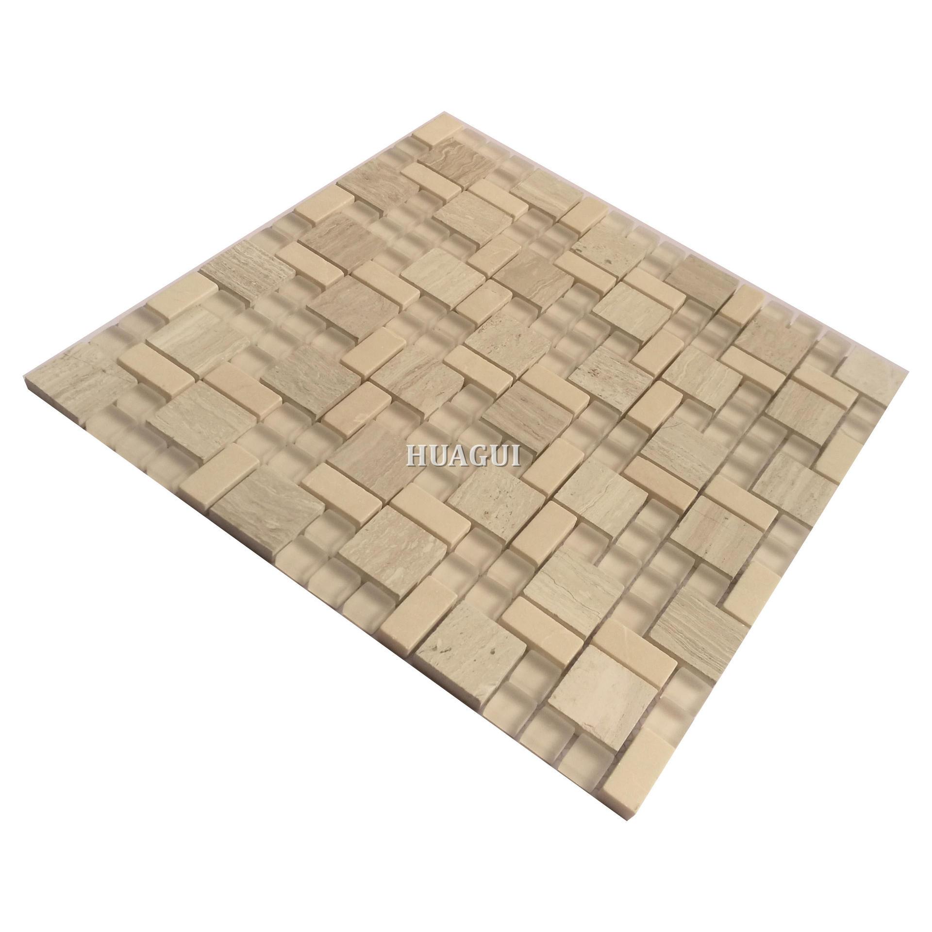 High-quality Moroccan glass stone backsplash kitchen mosaic tile
