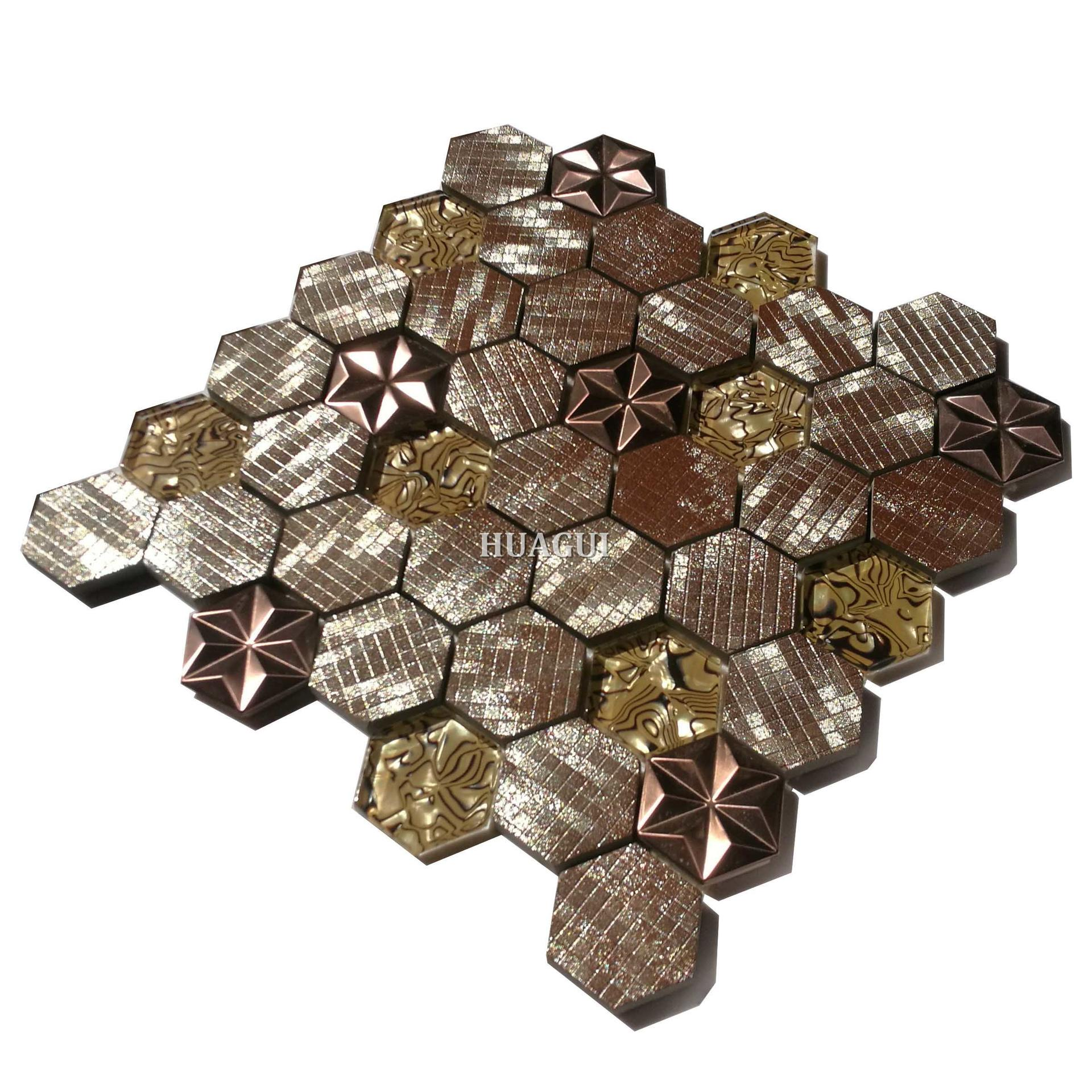 2019 unique backsplash ideas pictures of art hexagon tile