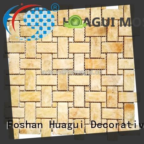 Huagui unique porcelain stone tile lantern for indoor