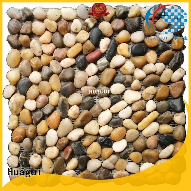 Huagui carrara mosaic pieces patterns for kitchen