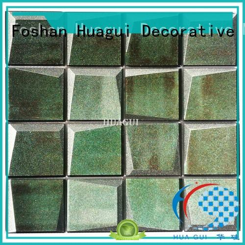Huagui fireplace glass subway tile company for indoor