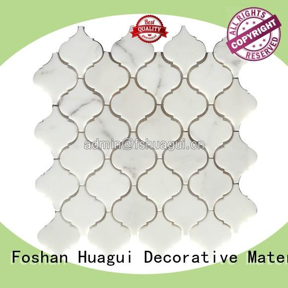 Huagui roman porcelain stone tile backsplash for indoor