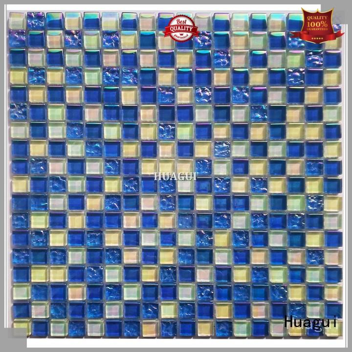 Huagui special swimming pool mosaic tiles for business for outdoor