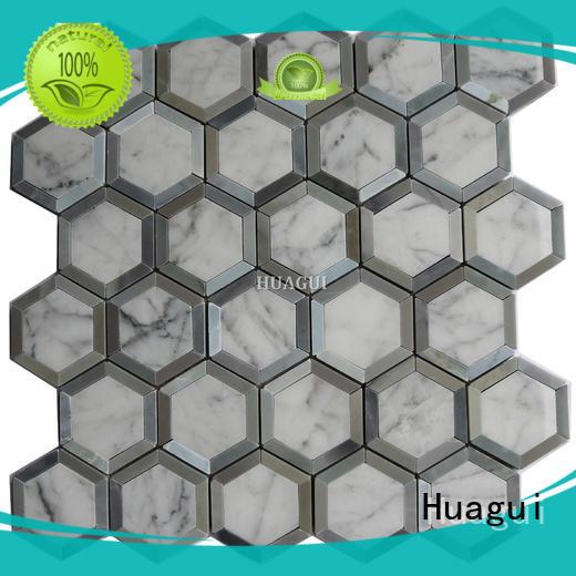 Huagui water stone kitchen floor tiles suppliers for floor