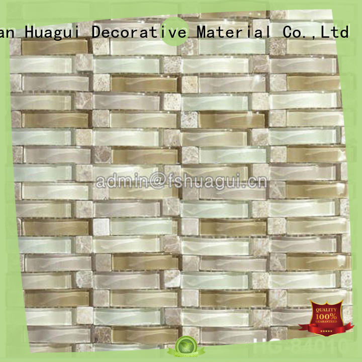 2019 hot sale wave style curved transparent glass mosaic tile for luxury wall decoration