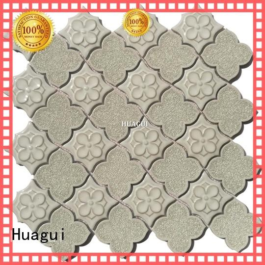 Huagui unique white ceramic mosaic tile supplier for home