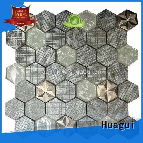design glass mosaic tiles kitchen splashback wall factory for home