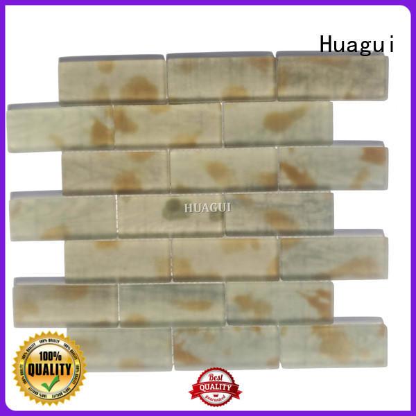Huagui elegance glass subway tile backsplash suppliers for home