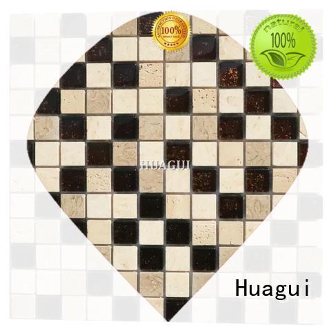 Huagui comfortable glass floor tiles company for floor
