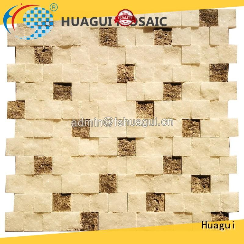 Huagui art natural stone backsplash tile backsplash for outdoor