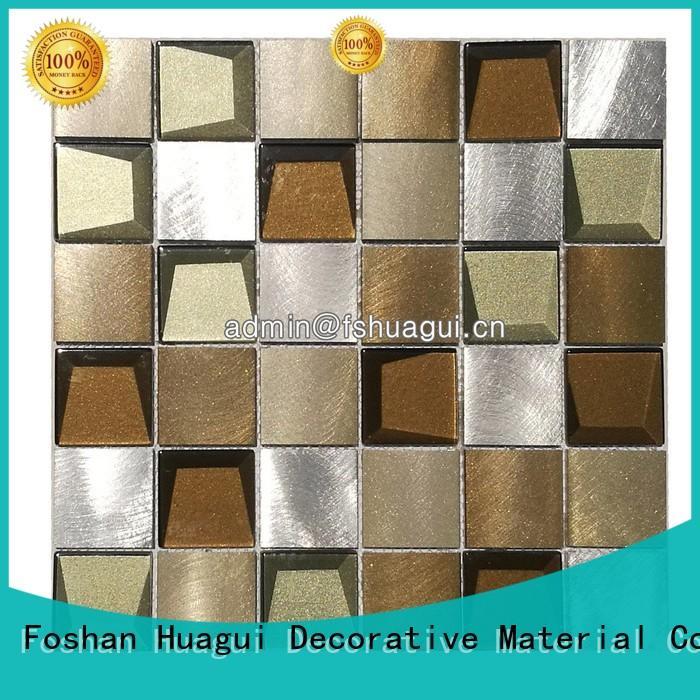 Huagui Brand new stainless copper metallic bathroom tiles