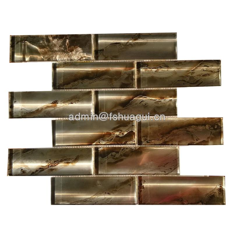 High-Quality Super Stunning Glass Subway Mosaic Wall Tile