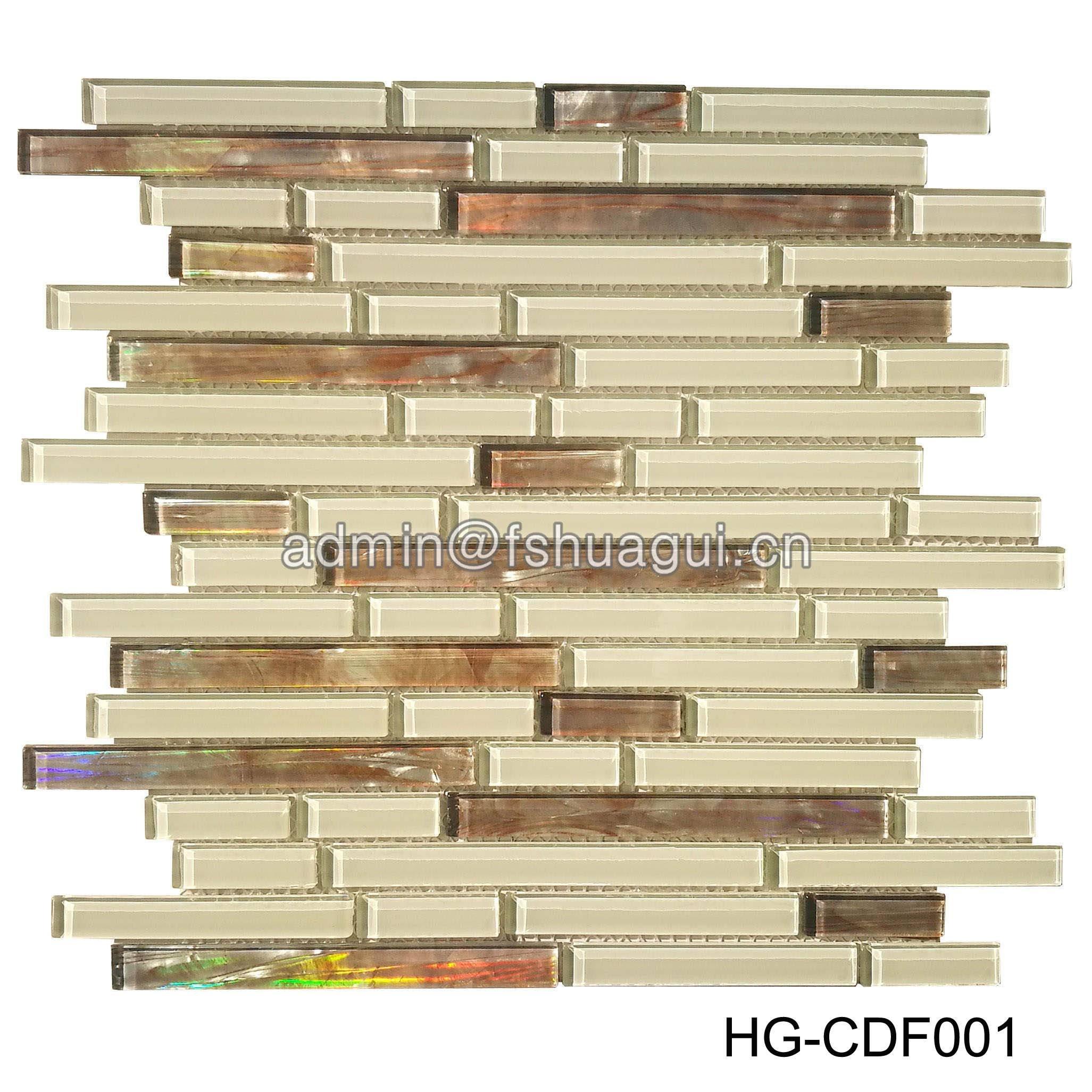 Huagui Glass Mosaic Tile HG-CDF001 GLASS MOSAIC TILE image31