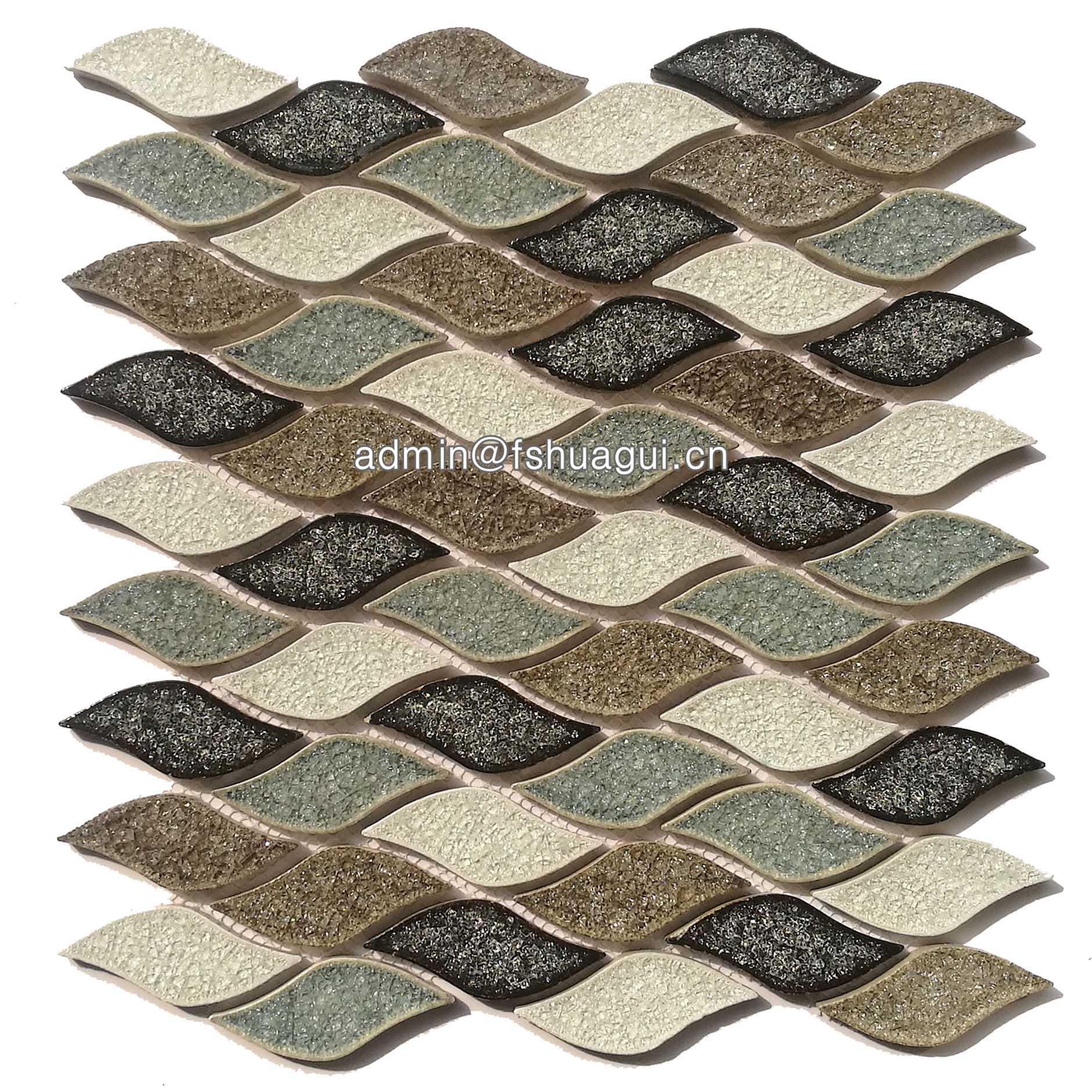 Huagui Ceramic mosaic tile HG-IC004 CERAMIC MOSAIC TILE image10