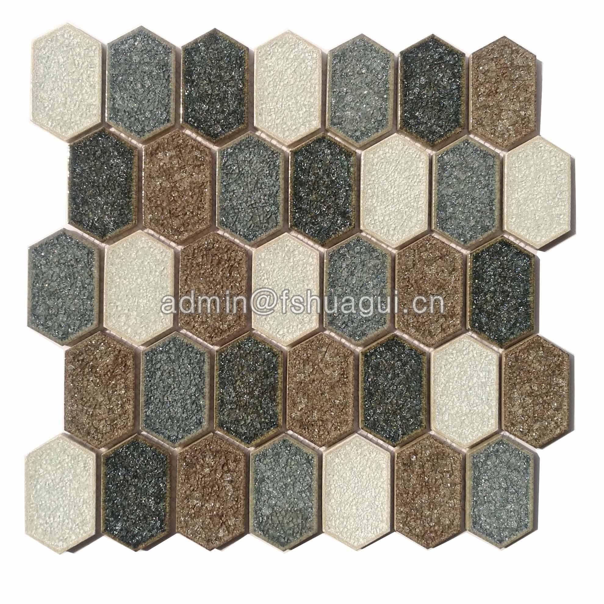 Huagui Ceramic Mosaic Tile HG-IC010 CERAMIC MOSAIC TILE image5