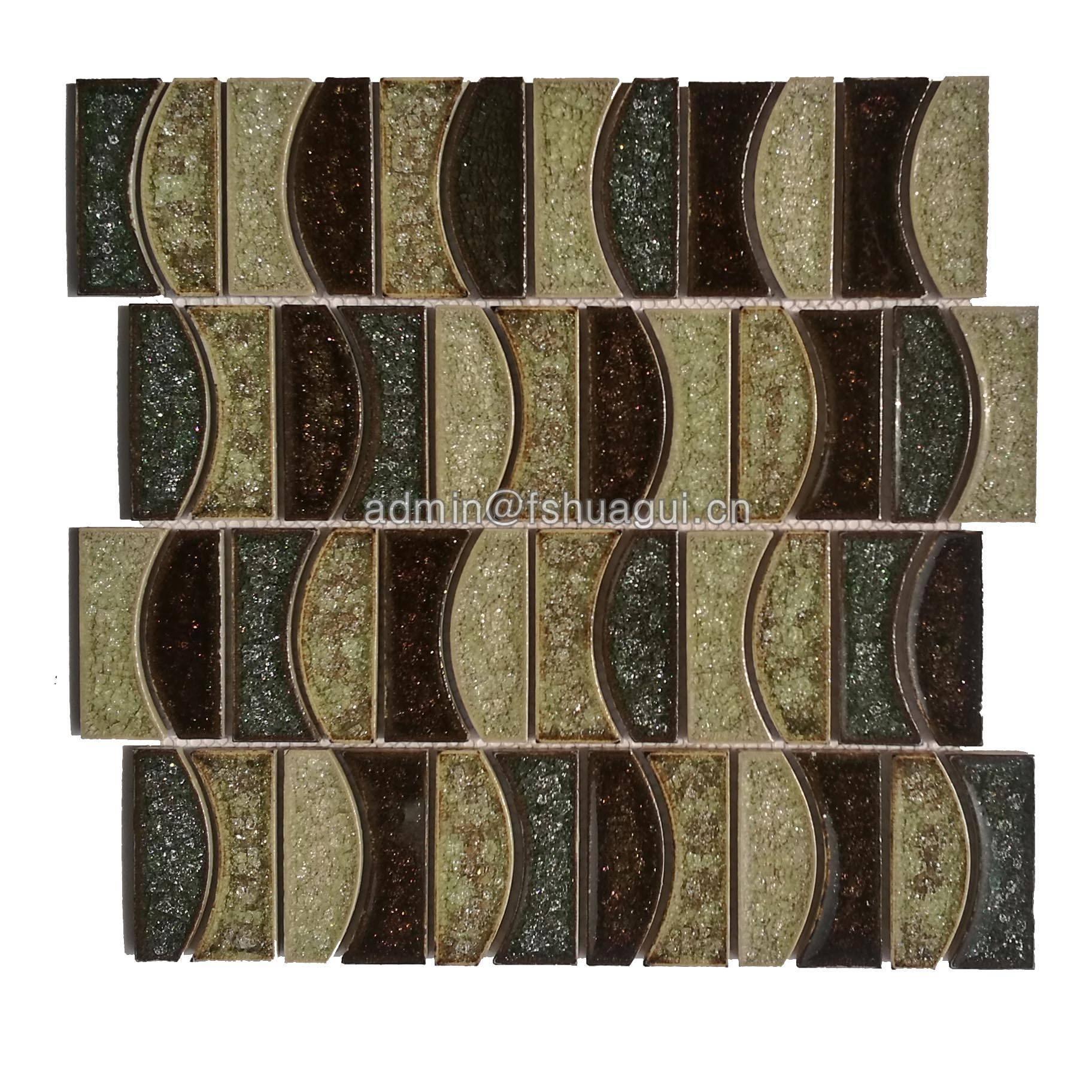 Huagui Ceramic Mosaic Tile HG-IC011 CERAMIC MOSAIC TILE image4