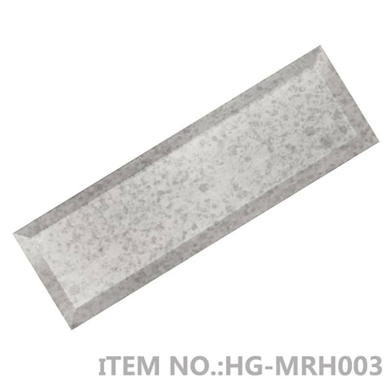 Reflection_Obsidian-Antique-Silver-Beveled-Mirror backsplash-designs  HG-MRH003/ HG-MRH004