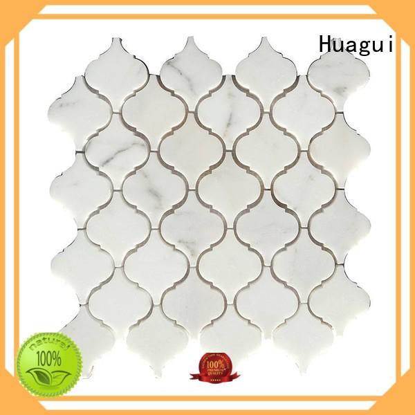 Huagui unique stone mosaic rock for indoor