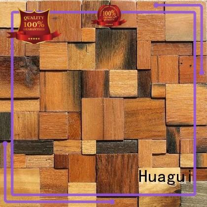 panel wood ceramic tile that looks like wood new professional Huagui Brand