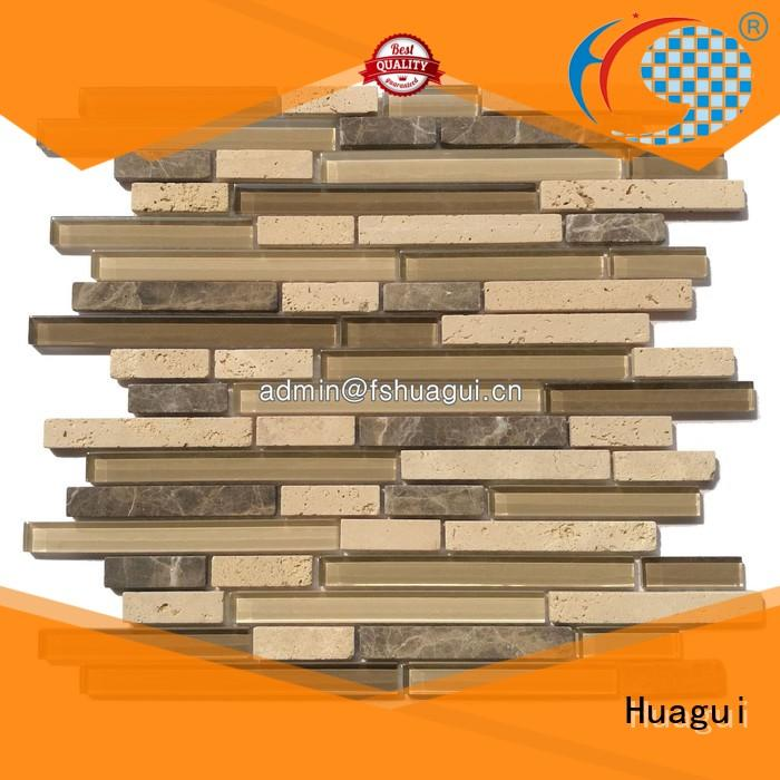 Huagui Brand top selling villa mosaic floor tile high quality factory