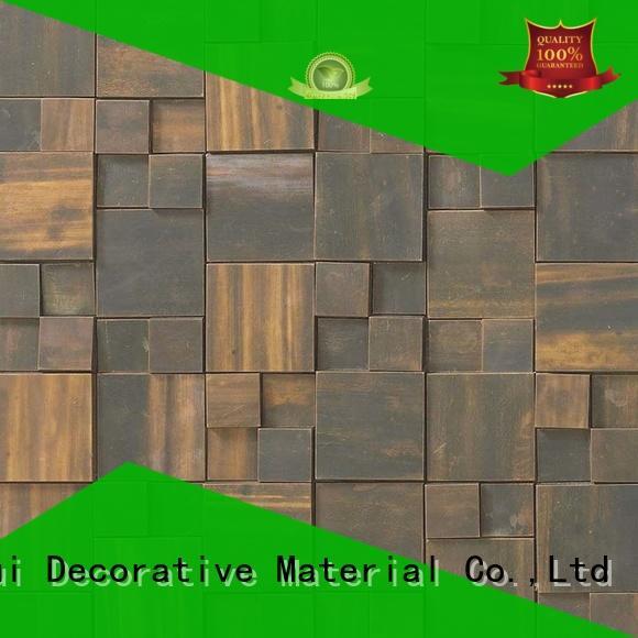 Quality Huagui Brand river copper mosaic tile